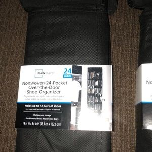 Accessories - 4 NEW Organizers Closet & Shoes Great Deal!
